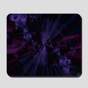 Shattered in Purple Mousepad