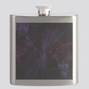 Shattered in Purple Flask