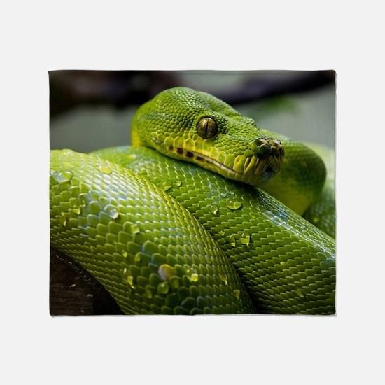 Snake Throw Blanket
