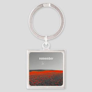 Poppy Field - Remember Keychains