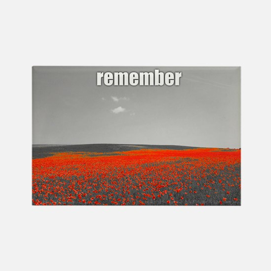 Poppy Field - Remember Magnets
