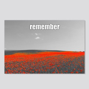 Poppy Field - Remember Postcards (Package of 8)