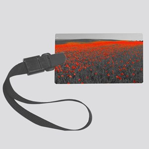 Poppy Field - Remember Large Luggage Tag