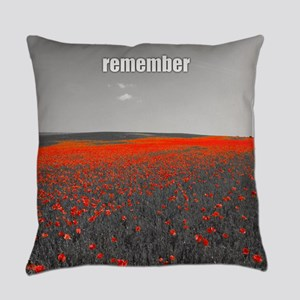 Poppy Field - Remember Everyday Pillow
