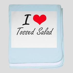 I love Tossed Salad baby blanket