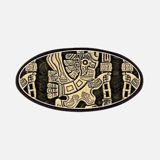 Aztec Eagle Warrior Patch