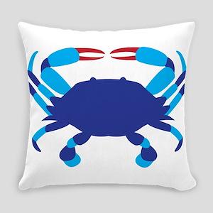 Crab Everyday Pillow