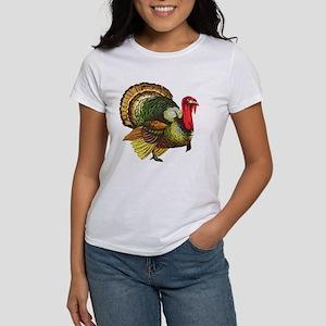 Thanksgiving Wild Turkey Women's T-Shirt