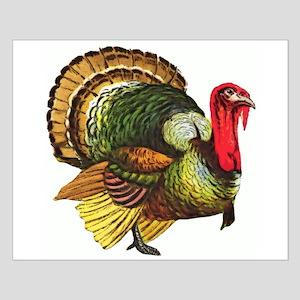 Thanksgiving Wild Turkey Small Poster