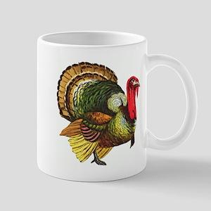 Thanksgiving Wild Turkey Mug