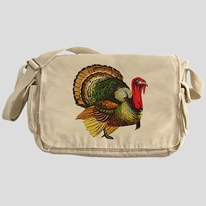 Thanksgiving Wild Turkey Messenger Bag