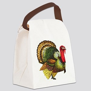 Thanksgiving Wild Turkey Canvas Lunch Bag