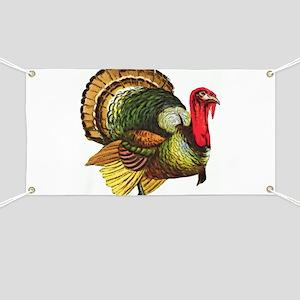 Thanksgiving Wild Turkey Banner