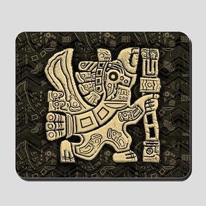 Aztec Eagle Warrior Mousepad