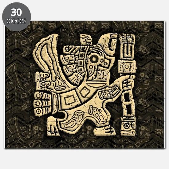 Aztec Eagle Warrior Puzzle