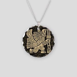 Aztec Eagle Warrior Necklace