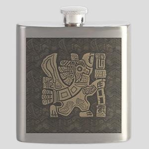 Aztec Eagle Warrior Flask