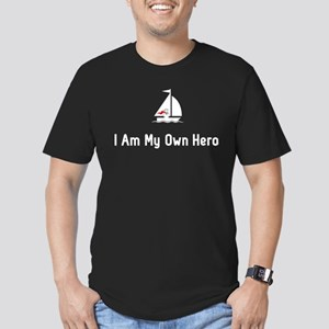 Sailing Hero Men's Fitted T-Shirt (dark)