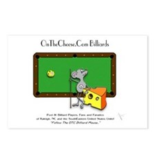 On The Cheese Billiard Mo Postcards (Package of 8)