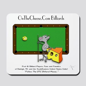 On The Cheese Billiard Mouse Mousepad
