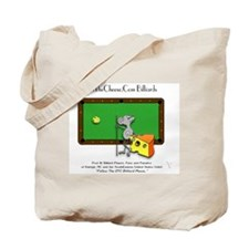 On The Cheese Billiard Mouse Tote Bag