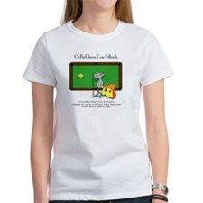 On The Cheese Billiard Mouse Women's T-Shirt