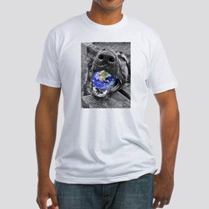 GSD World Fitted T-Shirt