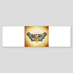 Tattoo Butterfly Bumper Sticker