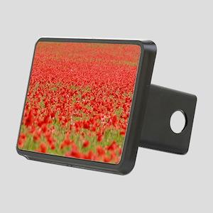 Poppy Field - Pro Photo Rectangular Hitch Cover