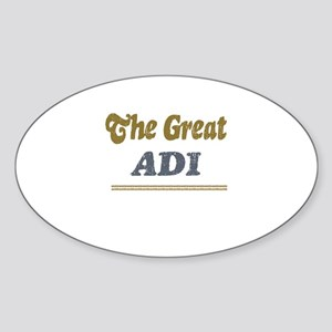 Adi Oval Sticker