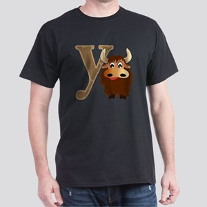 Y is for Yak Dark T-Shirt