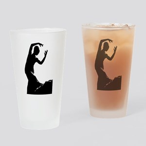 Flamenco dancer - bailaora Drinking Glass