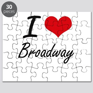 I love Broadway Puzzle