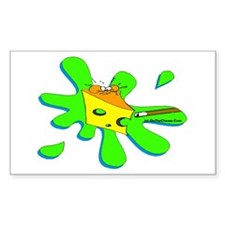 Funny Billiard Mouse Spl Sticker (Rectangle 50 pk)