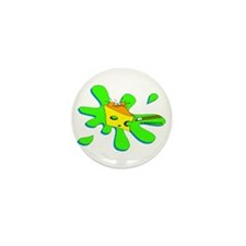Funny Billiard Mouse Splat Mini Button (100 pack)