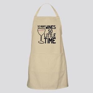 So Many Wines Apron