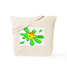 Funny Billiard Mouse Splat Cartoon Tote Bag