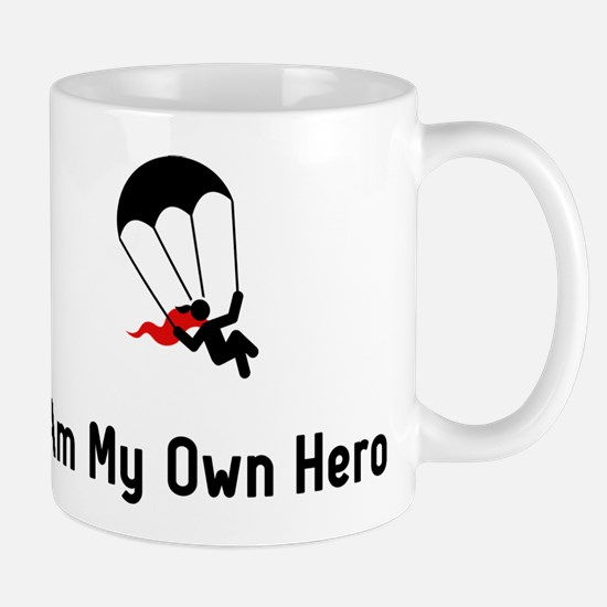 Parachuting Hero Mug