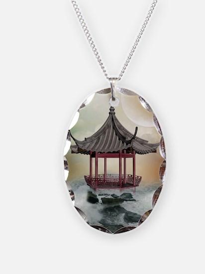 Oriental Gazebo Necklace