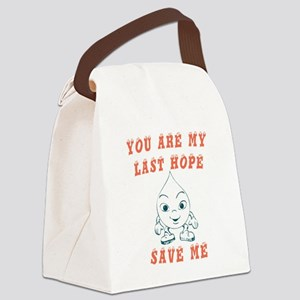 Save water request Canvas Lunch Bag