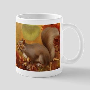 Thanksgiving Squirrel Mug