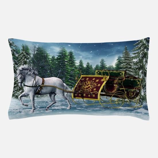 Christmas Sleigh Pillow Case