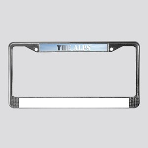 The Alps - Pro Photo License Plate Frame