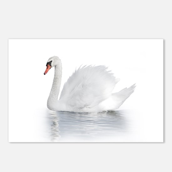 White Swan Postcards (Package of 8)