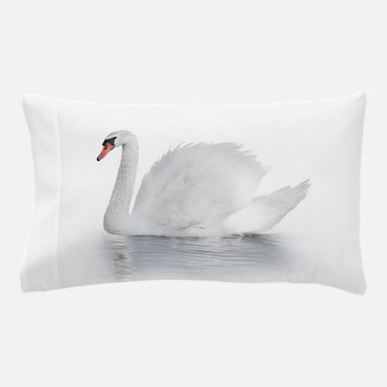 White Swan Pillow Case