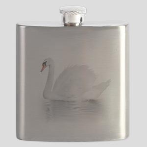 White Swan Flask