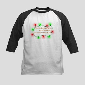 Elfing Christmas Baseball Jersey