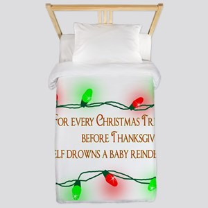 Elfing Christmas Twin Duvet
