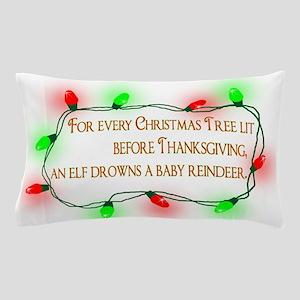 Elfing Christmas Pillow Case
