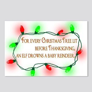 Elfing Christmas Postcards (Package of 8)